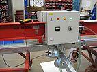 Elevador por vacío fuera de la red que funciona con baterías en un taller