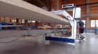 Vacuum lifter of the company AERO-LIFT as a reversible lifter in the wood industry for handling with wood