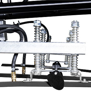 Detailed view of the traverse of the vacuum lifter CLAD-BOY 2.0