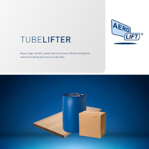 Cover of our tube lifter vacuum lifting equipment brochure